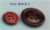 Fire Brick Pearl Suit Buttons