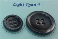Light Cyan Pearl Suit Buttons