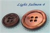 Light Salmon Pearl Suit Buttons