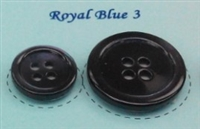 Royal Blue Pearl Suit Buttons