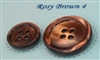 Rosy Brown Pearl Suit Buttons