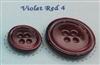 Violet Red Pearl Suit Buttons