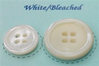 White, Bleached Pearl Suit Buttons