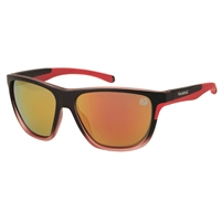 Margaritaville Sport Sunglasses Blk-Red/Smoke