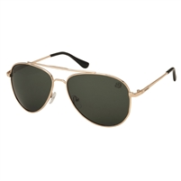 Margaritaville Jimmy's Aviator Sunglasses Gold