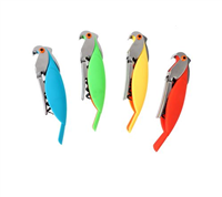 Parrot Bottle Opener/ Corkscrew