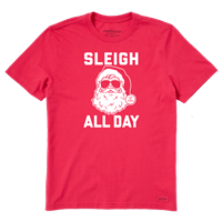 Life is Good Men's Sleigh All Day Crusher Tee