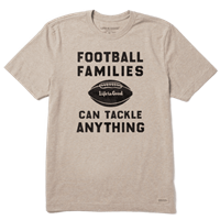 Life is Good Football Families Crusher Tee