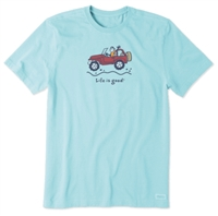 Life is Good Vintage Off Road Crusher Tee