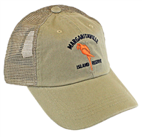 Men's Margaritaville Khaki Logo Hat