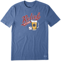 Life is Good Relief Pitcher Crusher Tee