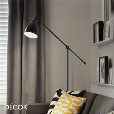 NEWTON FLOOR LAMP, BLACK