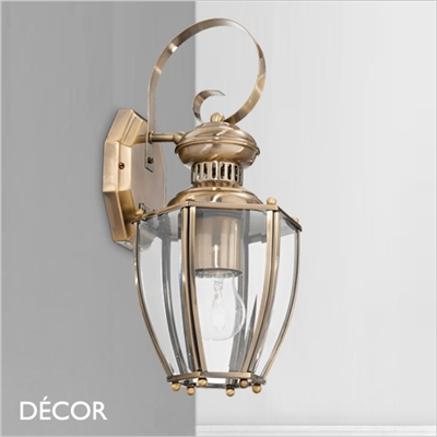 NORMA WALL LIGHT, BRASS
