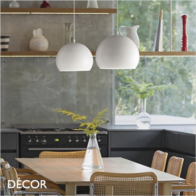 PANDORA PENDANT LIGHT, WHITE