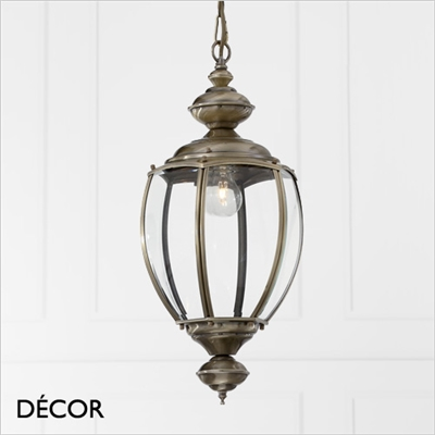NORMA PENDANT LIGHT, BRASS