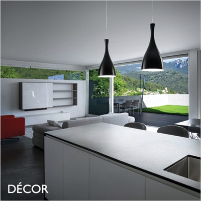 OLIMPIA PENDANT LIGHT, BLACK