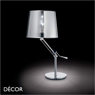 REGOL TABLE LAMP CHROME