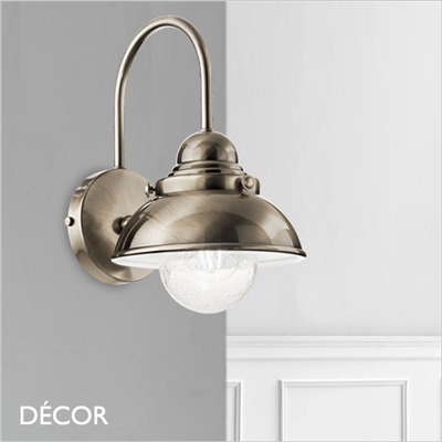 SAILOR WALL LIGHT, BRASS