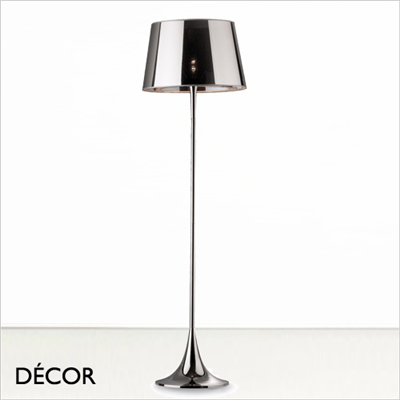 LONDON CROMO FLOOR LAMP