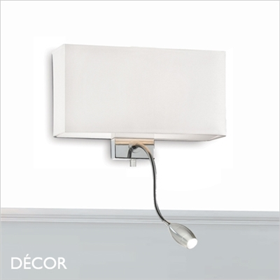 PALAZZO WALL LIGHT, WHITE
