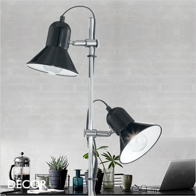 POLLY FLOOR LAMP, BLACK