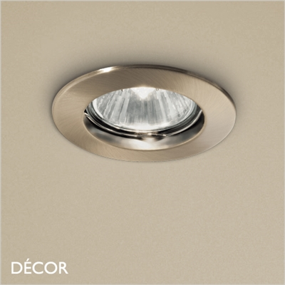 JAZZ BRASS RECESSED DOWNLIGHT/SPOTLIGHT