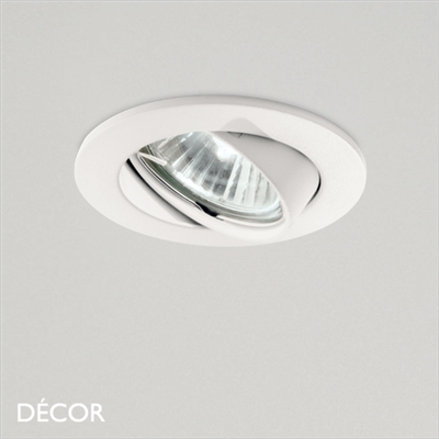 SWING DIRECTIONAL RECESSED DOWNLIGHT, WHITE