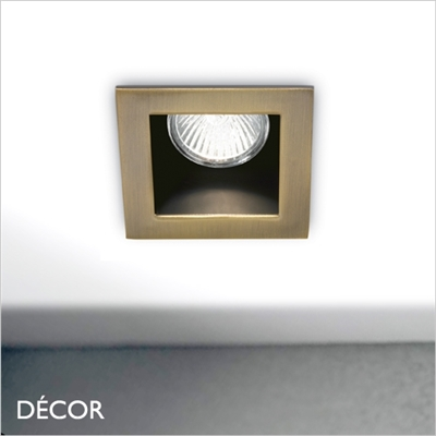 FUNKY ANTIQUE BRASS RECESSED DOWNLIGHT/ SPOTLIGHT