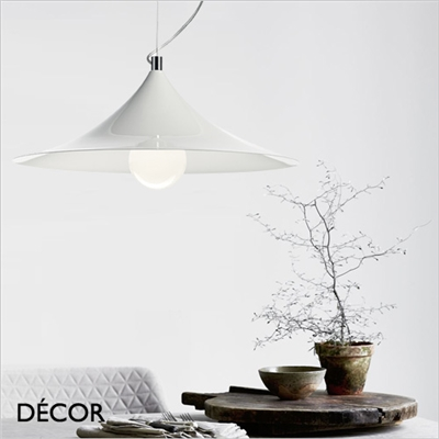 MANDARIN PENDANT LIGHT, WHITE