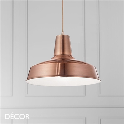 MOBY PENDANT LIGHT, COPPER