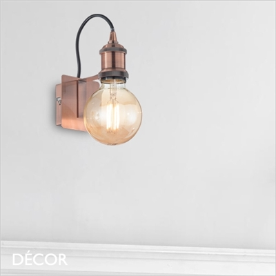 FRIDA SUSPENSION WALL LIGHT, COPPER