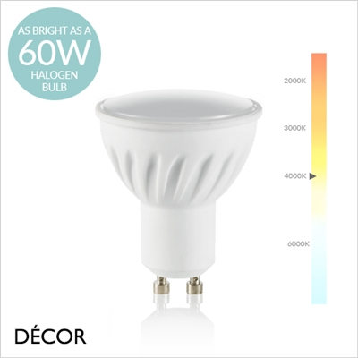 GU10 7W  LED SPOTLIGHT BULB
