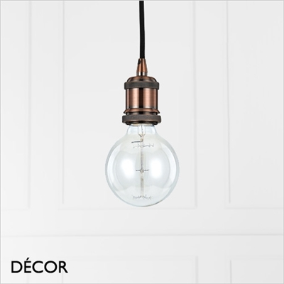 FRIDA SUSPENSION LIGHT FITTING, COPPER