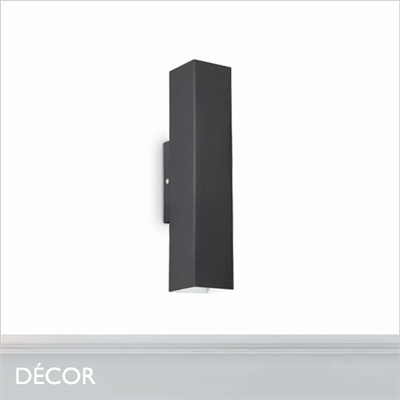 SKY WALL LIGHT, BLACK
