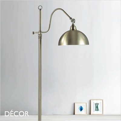 AMSTERDAM FLOOR LAMP, BRASS