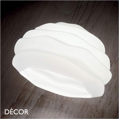 KARMA SMALL, PENDANT LIGHT, WHITE