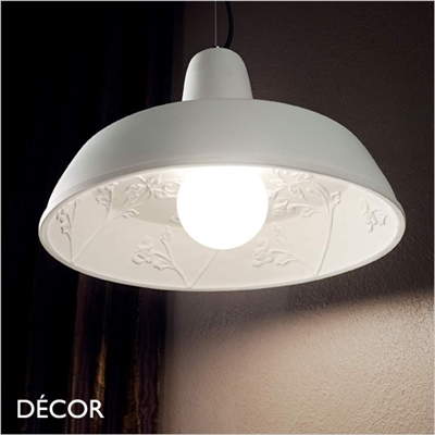 MOBY GESSO PENDANT LIGHT, WHITE