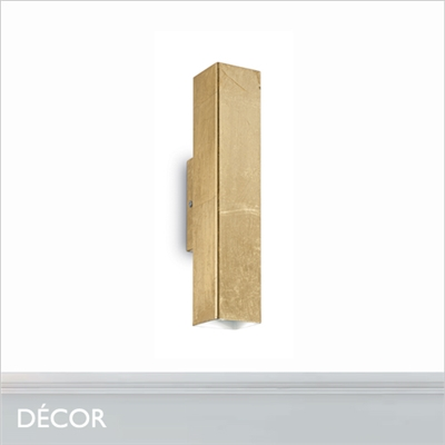 SKY WALL LIGHT, GOLD