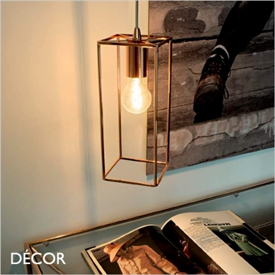 VOLT PENDANT LIGHT, COPPER