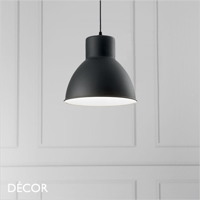 METRO PENDANT LIGHT, BLACK