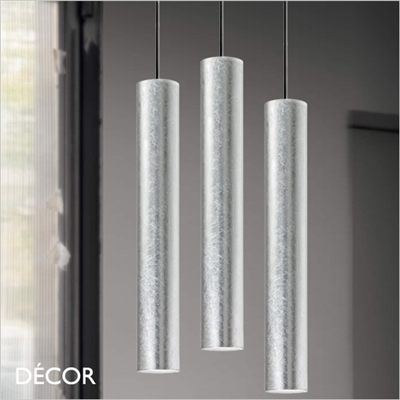 LOOK PENDANT LIGHT, SILVER LEAF