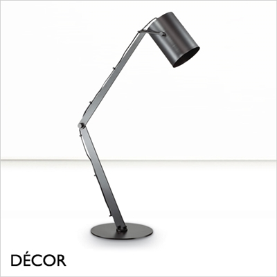 BIN DESK LIGHT, BLACK