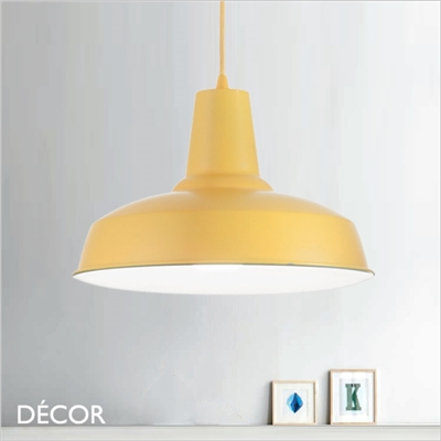 MOBY PENDANT LIGHT, YELLOW