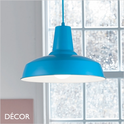 MOBY PENDANT LIGHT, BLUE