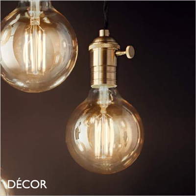 DOC SUSPENSION LIGHT FITTING, BRASS