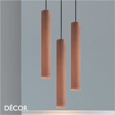 LOOK PENDANT LIGHT, CORTEN