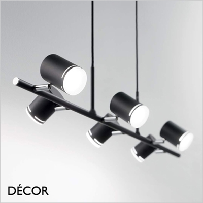 SHOTS SPOTLIGHT SUSPENSION LIGHT, BLACK