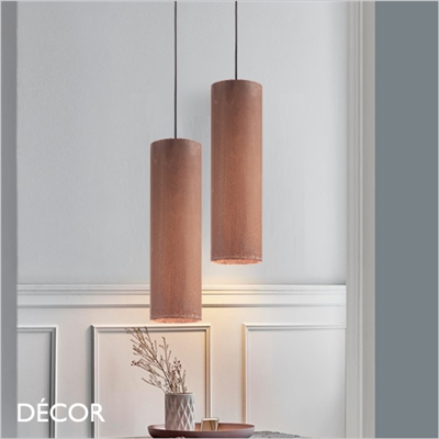 LOOK, BIG PENDANT LIGHT, CORTEN