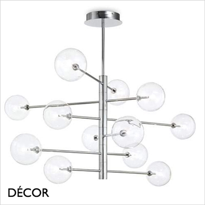 EQUINOXE PENDANT LIGHT CHROME