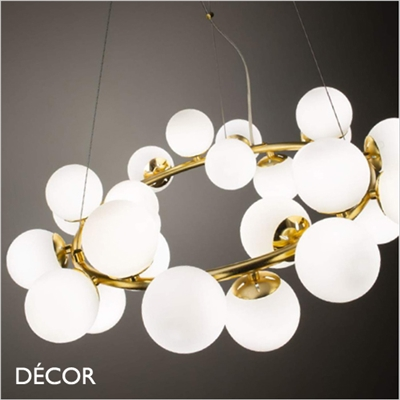 DNA PENDANT LIGHT CLUSTER